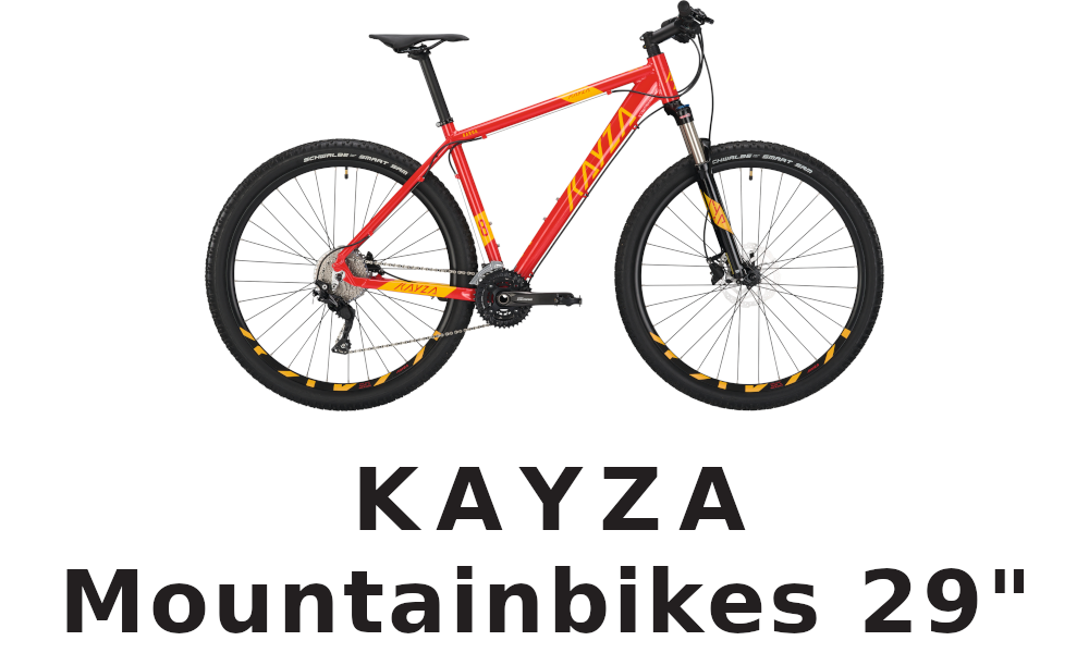 KAYZA Mountainbikes 29""